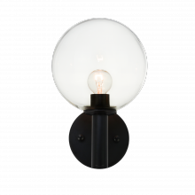 Cal Lighting BO-635-DB Wall Sconce with White Fabric Shades Dark Bronze Finish